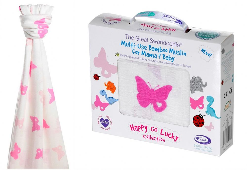Great Swandoodle - Happy Butterflies ~ Sold Out!